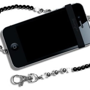 Agatatoare telefon - Mybunjee BEADED BLACK 4