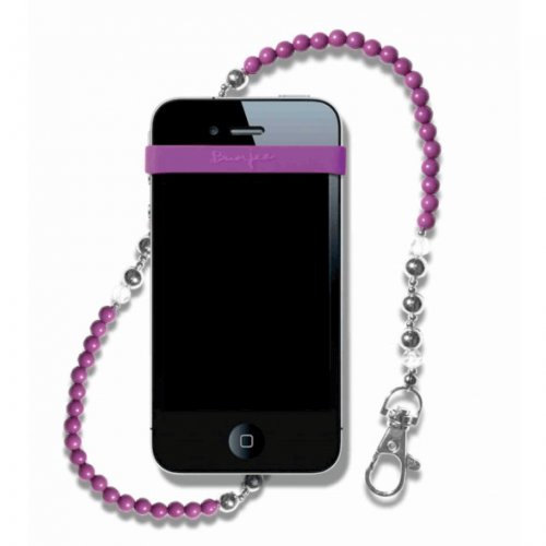 Agatatoare telefon - Mybunjee BEADED PURPLE 4